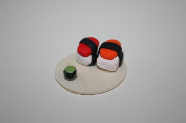 polymer clay Sushi