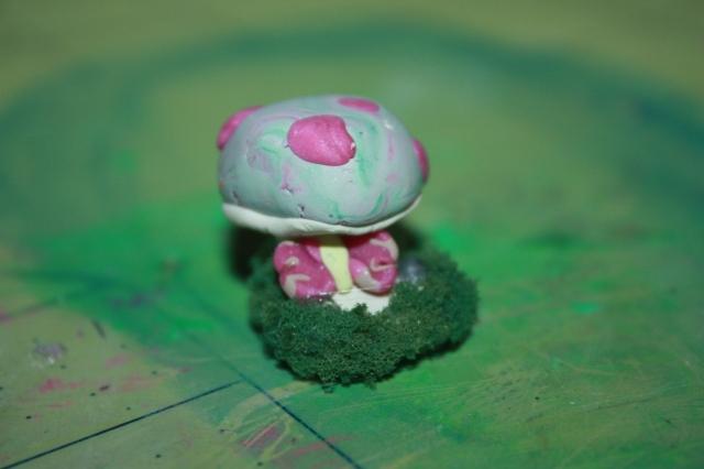 mushroom w/ butterfly